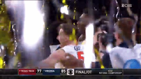 .@UVAMensHoops WINS IT!!  What. A. Story.  #NationalChampionship | #MarchMadness