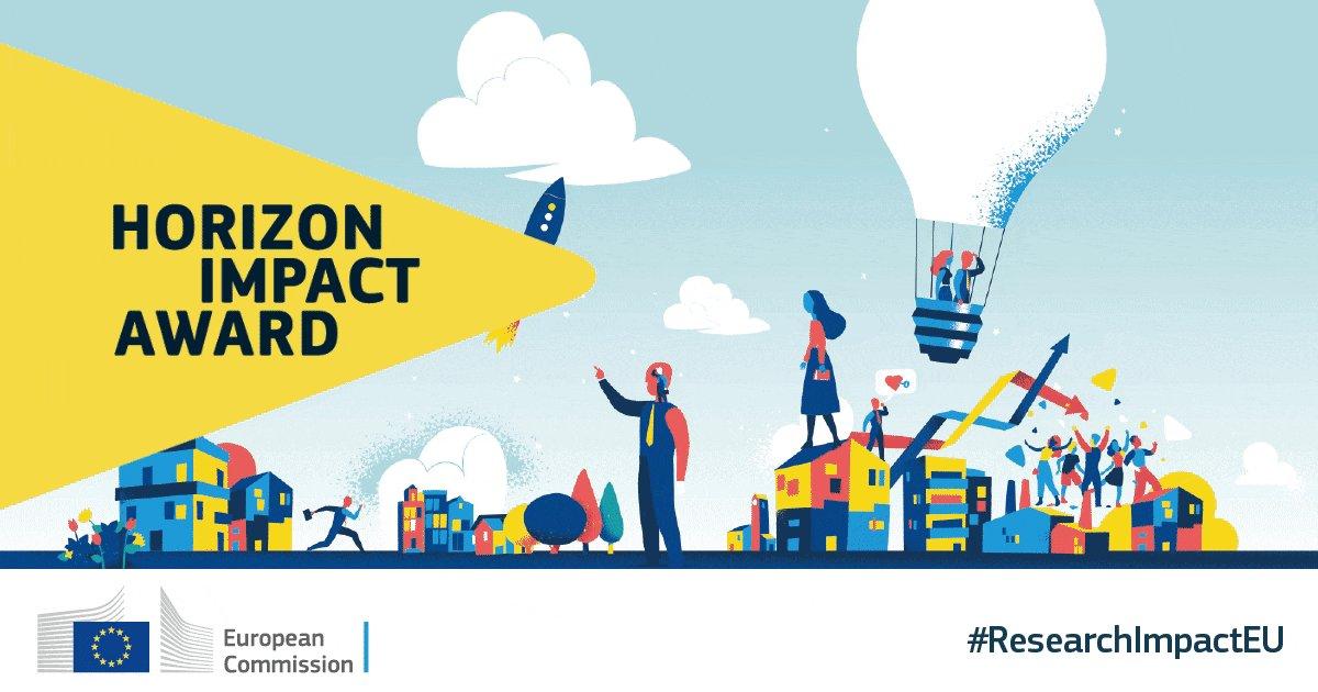 Image for the Tweet beginning: The Horizon Impact Award celebrates