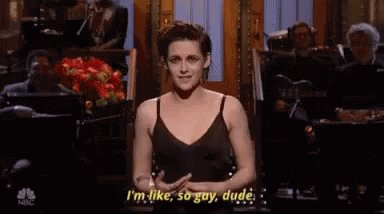 Happy Birthday, Kristen Stewart! One of the best actors working today who also gave us this gem: