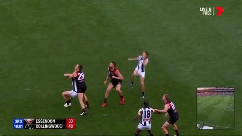 Will Hoskin-Elliott is really trying to get a JLT Mark of the Year nomination today!  #AFLDonsPies