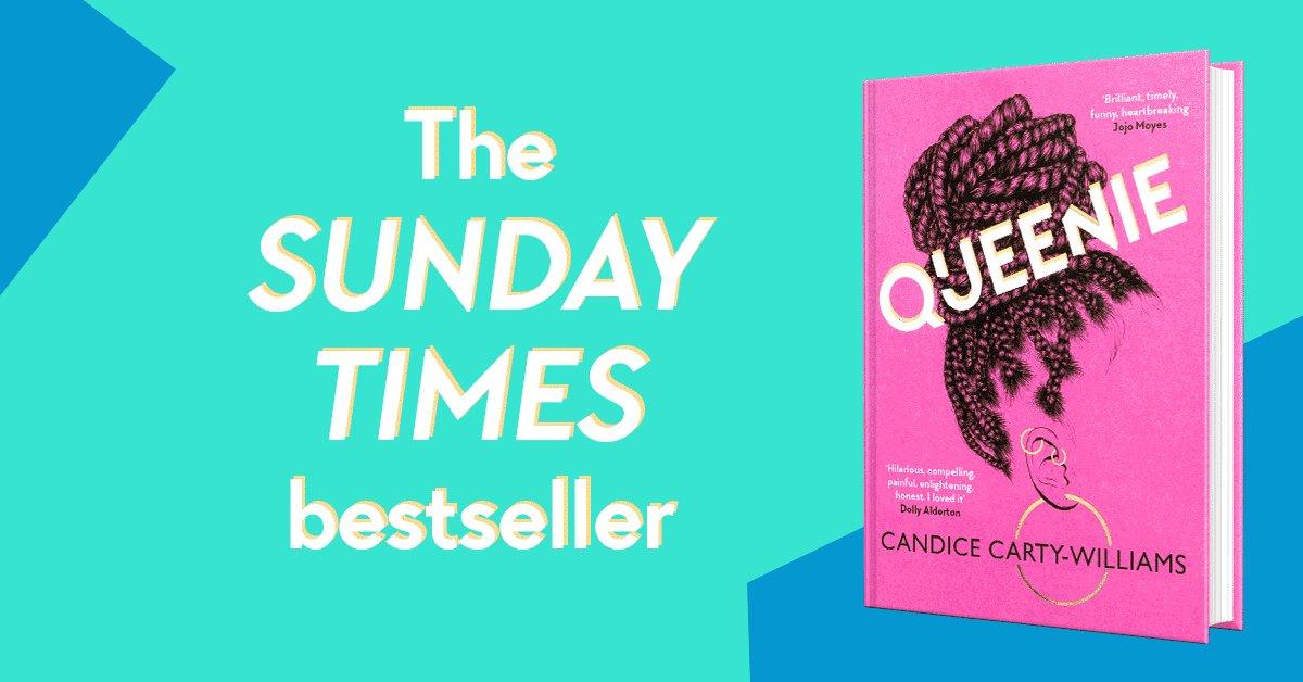 Congratulations @CandiceC_W – #QUEENIE is No.6 in the SUNDAY TIMES chart this week! 👑👑👑 bit.ly/QueenieHB #IAmQueenie