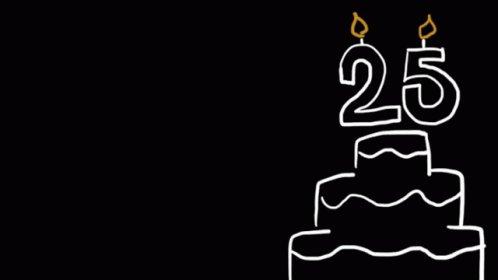 Happy 25th birthday  Enjoy young man!