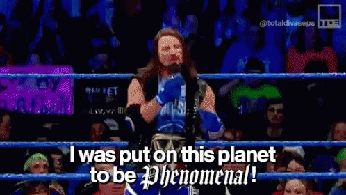 The Phenomenal One is the best @WWEUniverse