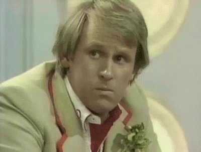 Happy birthday to Peter Davison, my favourite Classic Doctor who also gave me my favourite gif in existence