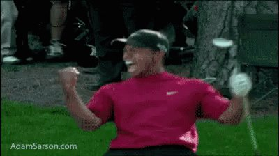 Tiger coming back to win the Masters after all this time might be the greatest thing I've witnessed in Golf since I first started watching it 40 minutes ago