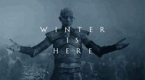 In a comeback for the history books, Tiger Woods win his first Masters in,,, ummm...WHO gives a sh*t??? Winter. Is. Here. #GOT