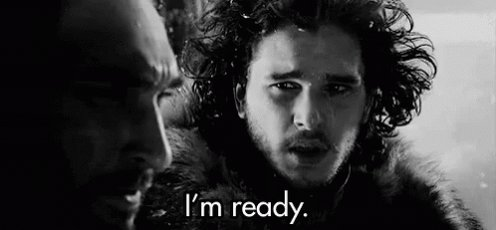 I've missed you, Winter. Buckle up and pay those debts, friends. Here we go! #GameofThrones