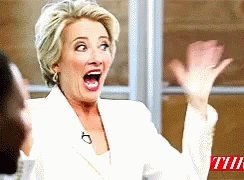 Happy 60th Birthday to the amazing & hilarious Dame Emma Thompson.