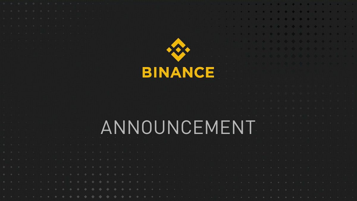 #Binance Will Delist $BCHSV https://support.binance.com/hc/en-us/articles/360026666152 …