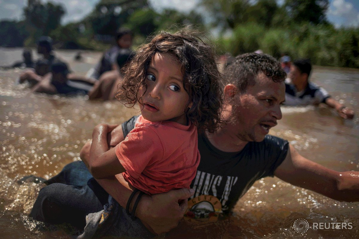 .@Reuters photographers clambered onto truck beds and walked hundreds of miles to capture Pulitzer Prize-winning images of migrants journeying to the U.S. border. Read the story behind the pictures: https://reut.rs/2UChqbi #ReutersBackstory