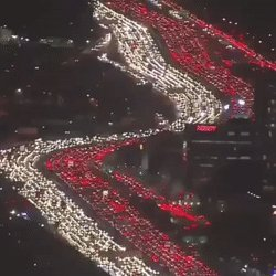 What The Traffic Will Look Like Tomorrow Evening When Half Of #Perth Decides To Head Down To #BluffKnoll To See The 'Snow'... #PerthTraffic
