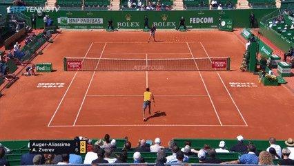 Auger- Aliassime/@felixtennis /(🎥@TennisTV ) #RolexMCMasters