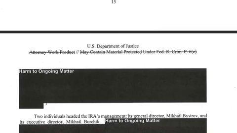 """This is """"lightly redacted""""? #MuellerReport"""