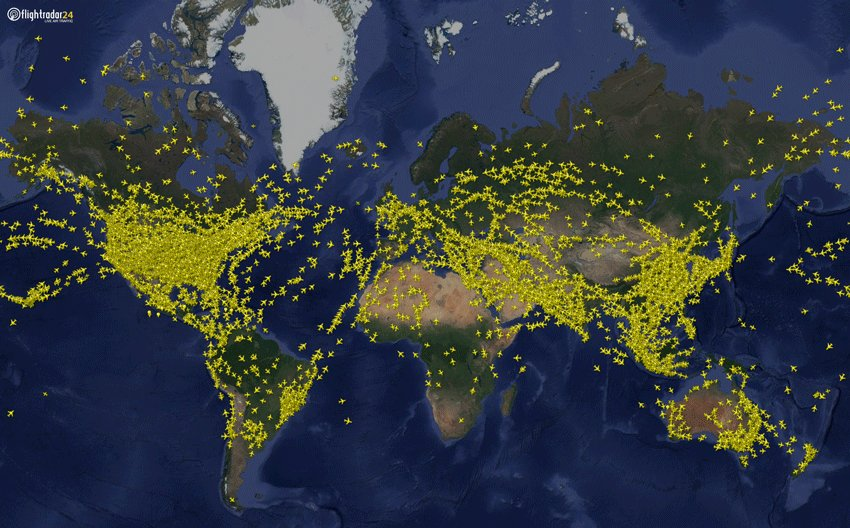 Yesterday was the first day of 2019 in which we tracked more than 200,000 flights. Last year, the first day we tracked 200k+ flights was 29 June.  Learn how you can help us track even more flights and get a free FR24 business subscription at https://www.flightradar24.com/add-coverage