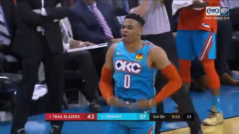 🗣 TOO SMALL  #ThunderUp | #NBAPlayoffs