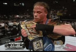 Image for the Tweet beginning: #Happy420 #Robbie2Belts @TherealRVD