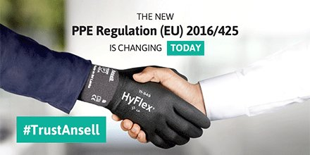 Image for the Tweet beginning: The new #PPE Regulation (EU)
