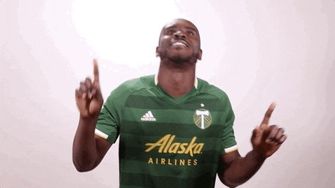 GOOOOOALLLLL TIMBERS!!! Larrys Mabiala gives us a 1-0 lead in the 31st minute. #RCTID #CLBvPOR