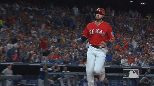 #HelloWinColumn  FINAL: Rangers 9, Astros 4.