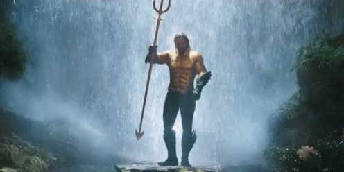 I have been waiting a long time for this one so now watching #Aquaman (First time)