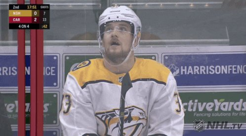 i blame gavin degraw...and the power play. #preds