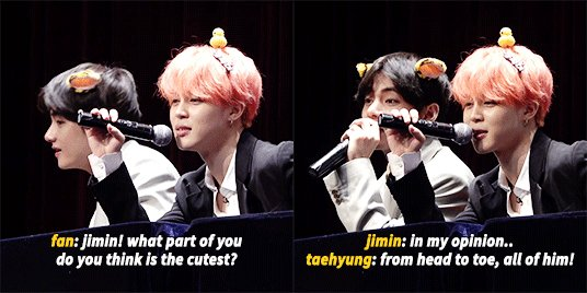 well taehyung ain't lying