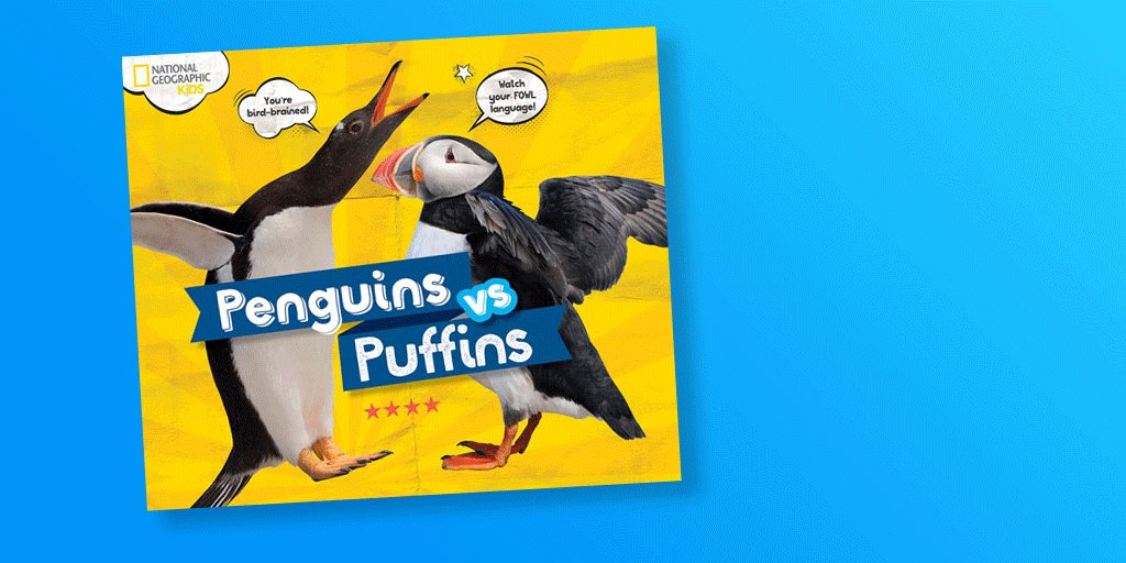 Happy #WorldPenguinDay to all. To celebrate were giving away a flippin awesome copy of Penguins vs. Puffins! RT and #follow for a chance to #win 🐧 T&Cs apply: bit.ly/2GFtpMp