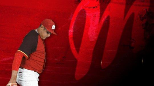5⃣🔽 Relevo en la loma escarlata:  Sale: @david_a_reyes  Entra: Fabián Cota  #VamosDiablos