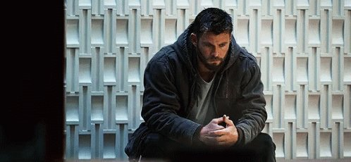 me waiting for all of my friends to see #AvengersEndame so I can finally talk about it