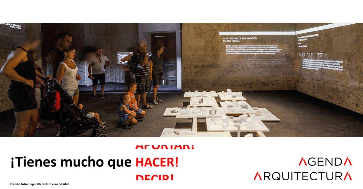 Image for the Tweet beginning: #AgendaArquitectura es el resultado del