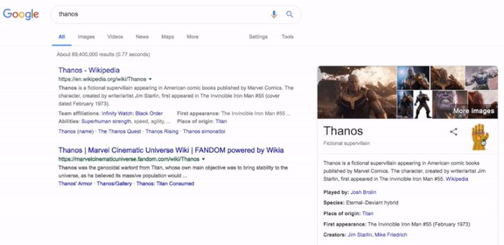 Image for the Tweet beginning: Google 'Thanos' and watch in