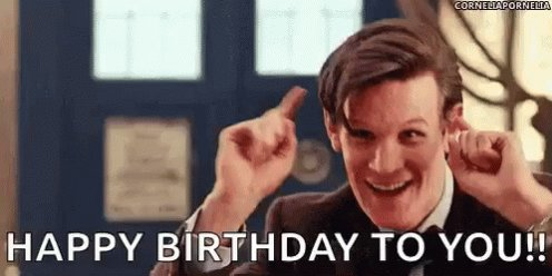 Happy birthday Jenna, I give to you the first time you entered the Tardis with Matt Smith