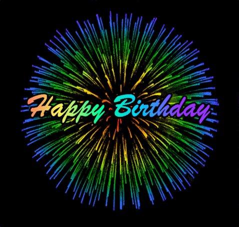 Happy birthday! Celebrate & enjoy!