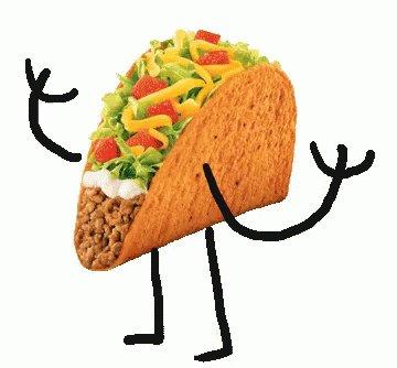 Happy birthday Michael Waltrip. Here\s a taco for ya!