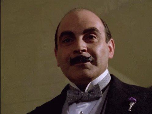 Happy birthday , my favorite Hercule Poirot.
