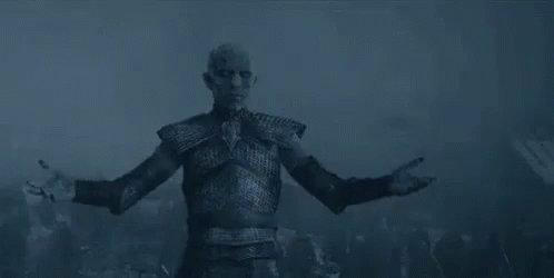 Dany: Jon: Extraño al Night King