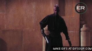 @starwars Qui-Gon Jinn & Obi-Wan Kenobi VS Darth Maul!!!💪😎