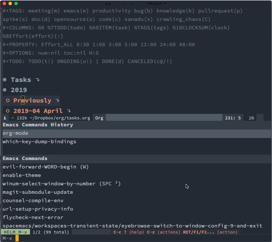 Spacemacs Tutorial For Vim Users