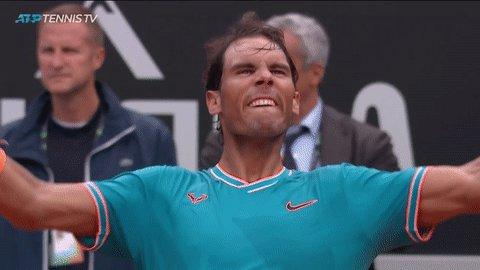 Masters 1000 finals all-time  Nadal - 50 👏 Federer - 50  Djokovic - 48  Agassi - 22 Murray - 21 Sampras - 19  Becker - 11 Muster - 10 Kuerten - 10  Chang/Roddick/Edberg - 9   Bravo @RafaelNadal