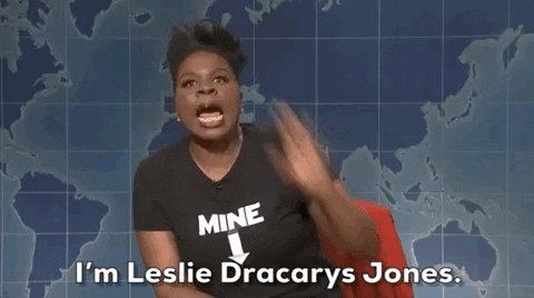 Saturday Night Live - SNL's photo on Leslie Dracarys Jones