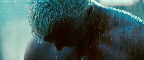 """""""...like so many tears in rain."""" This movie is awesome. #scifi"""
