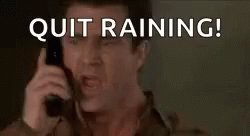 Rain, Rain, Go Away! #INDY500Qualifying Day 2