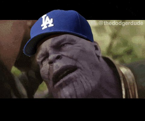 Mr Red don't feel so good..... DODGERS WIN!!
