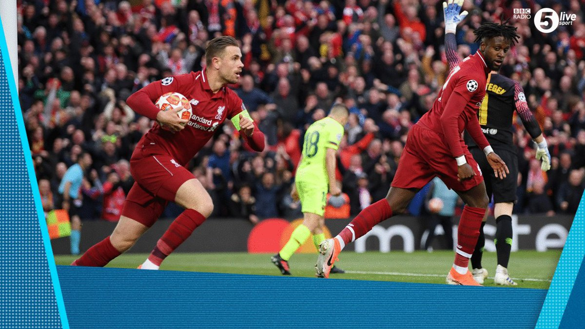 Incredible 🏆🤯  Listen to @Iandennisbbc and @alanshearer's commentary of all FOUR goals in #LFC's astonishing #UCL win vs #Barca  Highlights of @LFC vs @FCBarcelona on @bbcsounds ⚽️🎙️ http://bbc.in/2H88yBB  #bbcfootball #LIVBAR