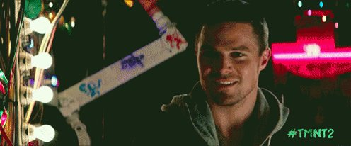 Happy Birthday, Mr. Stephen Amell, as Casey Jones from Ninja Turtles: Out of the Shadows.