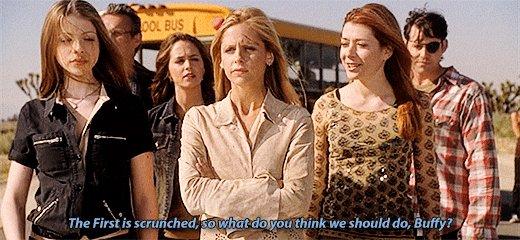 Hoy se cumplen 16 años de la emisión de 'Chosen' el último capítulo de #Buffy