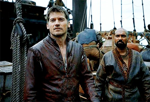 Jaime Lannister had one of the best character arcs in the entire series, and we're supposed to believe he goes out abolishing all of it in one episode? No. It doesn't matter what the writers say, Jaime, we know you.