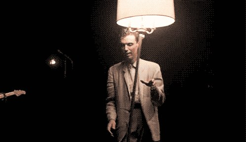 A very happy birthday to David Byrne born on this day in 1952