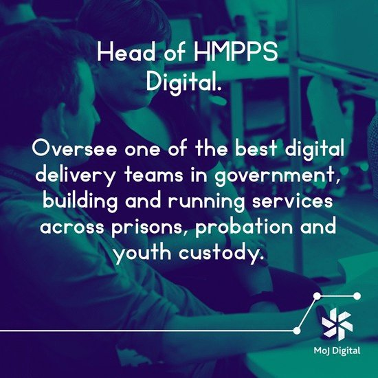 📢 We have 3 brilliant Senior Civil Service roles @Justice_Digital in London, Birmingham & Sheffield  ☑️Head of HMPPS Digital - http://bit.ly/HeadofHMPPSDigital …  ☑️Digital Portfolio Lead - http://bit.ly/DigitalPortfolioLead …  ☑️Head of Infrastructure - http://bit.ly/HeadInfrastructure …  #DigitalJobs