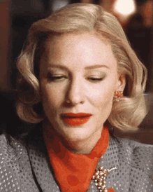 Cate Blanchett is 50 today so I guess I m 50 now too. Wish me happy birthday everyone.